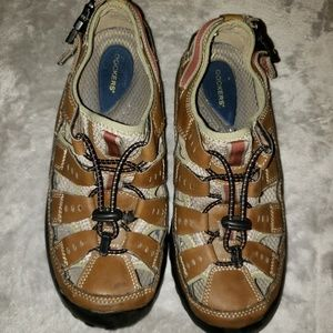 🍒5for$10 Dockers brown hiking sandals. Mens SZ 10